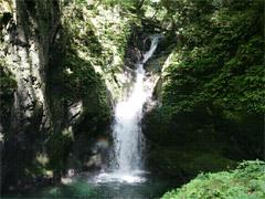 山王渓谷と山王滝